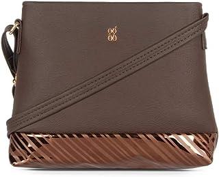 Baggit Women's Satchel Handbag (Brown)