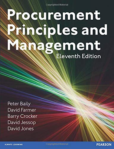 Procurement, Principles & Management (11th Edition)
