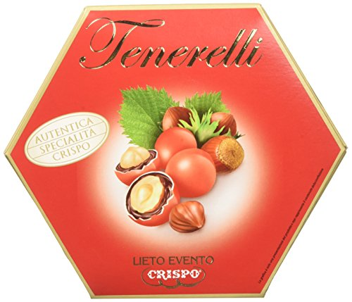 Crispo Confetti Tenerelli Lieto Evento - Colore Rosso - 4 confezioni da 500 g [2 kg]