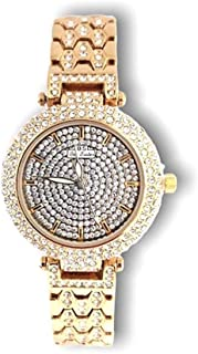 Bee Sister Bling style gold with Elegant Crystal watch