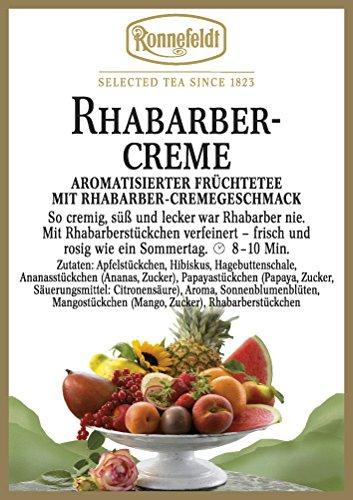 Ronnefeldt - Rhabarber Creme - Aromatisierter Früchtetee - 100g