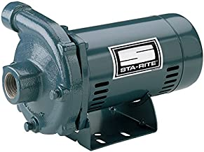Pentair Sta-Rite JBMMG-59S Single Phase Cast Iron Centrifugal Pump and Motor Assembly, 2-1/2 HP