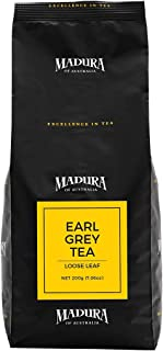 Madura Earl Grey Loose Leaf Tea in Refill Pouch, 1 x 200 g