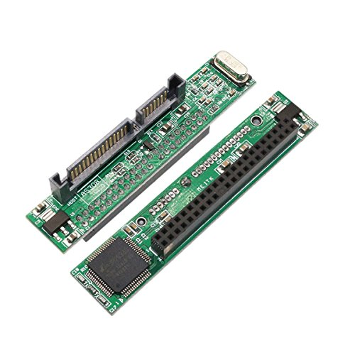 Laptop IDE Drive to SATA Adapter, 44 pin 2.5 IDE HDD Laptop Hard Drive Female to 7+15 pin Male SATA Adapter to Connect a Laptop IDE Drive to a SATA Port