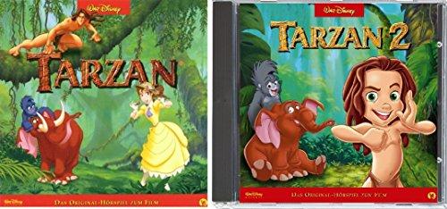 2 CDs - Tarzan - Das Original Hörspiel zum Film 1+2 im Set - Deutsche Originalware [2 CDs]