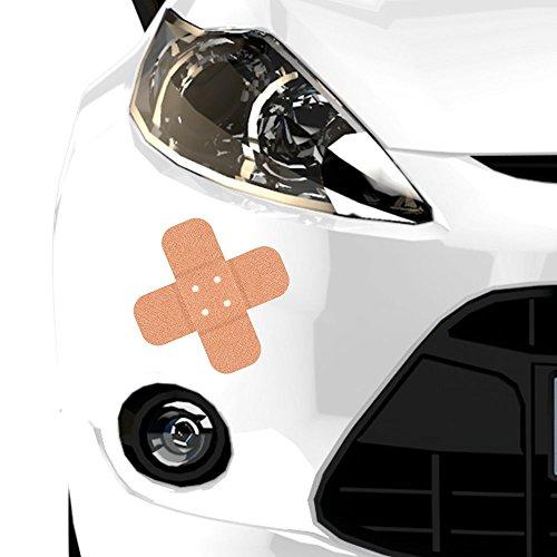 malango® Autoaufkleber Pflaster Auto Aufkleber Sticker Schutz Car 2er Set (1 Stück 10 cm + 1 Stück 20 cm)