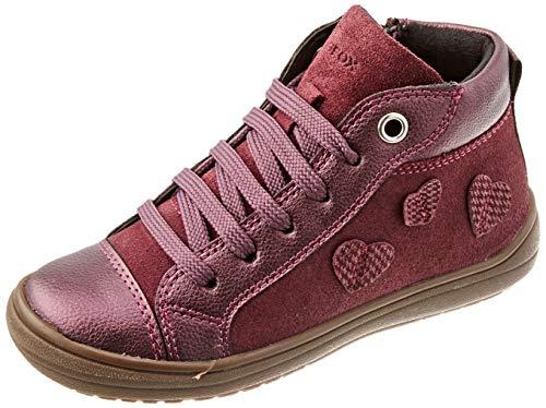 Geox J HADRIEL Girl B, Sneaker Bebé-Niñas, (Prune), 26 EU