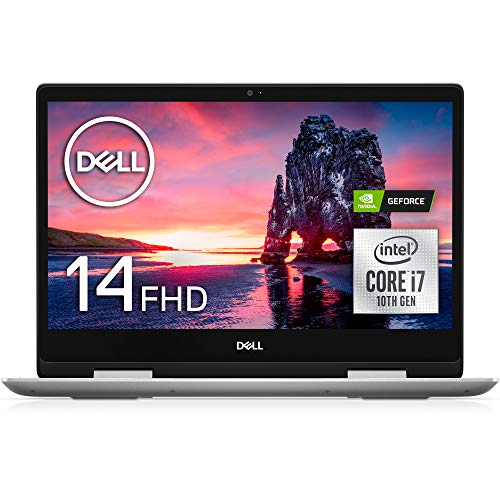 Dell 2in1ノートパソコン Inspiron 14 5491 Core i7 シルバー 20Q33/Win10/14FHD/16GB/512GB SSD/MX230
