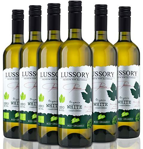 Lussory Chardonnay Orgánico | Vino blanco Sin alcohol caja