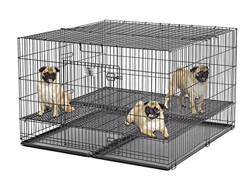 generic puppy playpens Midwest Homes Puppy Playpen Crate - 248-10 Grid & Pan Included