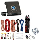 New Planet Audio AC15001M 1500 Watt MONOBLOCK Car Audio Amplifier and 2.0 Farad Capacitor and 8 Gauge Amplifier Kit Includes Cables, Hardware, Accessories