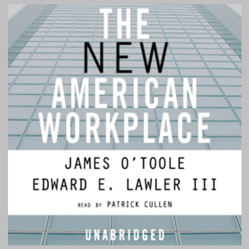 The New American Workplace audiobook cover art