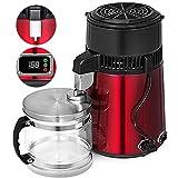 MZBZYU Destilador de Agua de Acero Inoxidable 4L 750W Máquina de Agua Pura destiladora eléctrica Ligera y portátil para Encimera doméstica