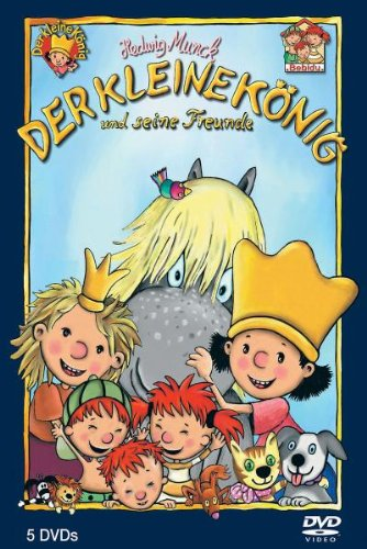 Der kleine König und seine Freunde - Die königliche 5-DVD Komplettbox