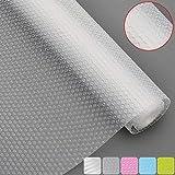 Best Shelf Liners - Bloss Plastic Shelf Liners Cabinet Drawer Liner Non-Slip Review