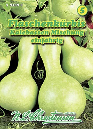 N.L. Chrestensen 583080 Flaschenkürbis Kalebassen Mischung (Flaschenkürbissamen)