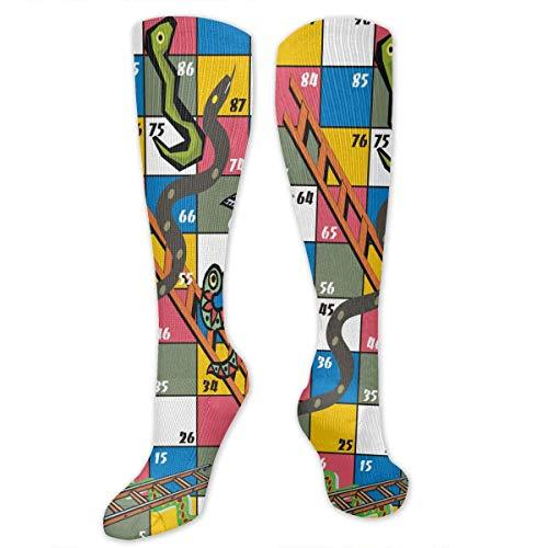Preisvergleich Produktbild NA Stretch Socks Brettspiele Stilvolle Winterwärme für Frauen und Männer beim Laufen