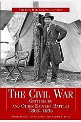 The Civil War Gettysbury & Other Eastern Battles 1863-1865 Encadernação para biblioteca
