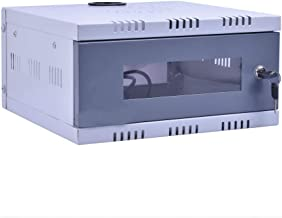 TWENOZ CCTV/DVR/NVR Cabinet Box/DVR Rack Wall Mount with Lock/Network Rack/Server Rack with Power Socket - 1U
