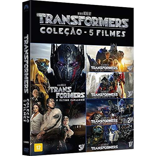 COL. TRANSFORMERS 5 FILMES