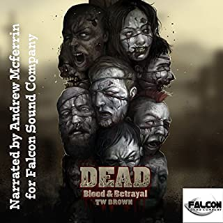 DEAD: Blood and Betrayal audiobook cover art