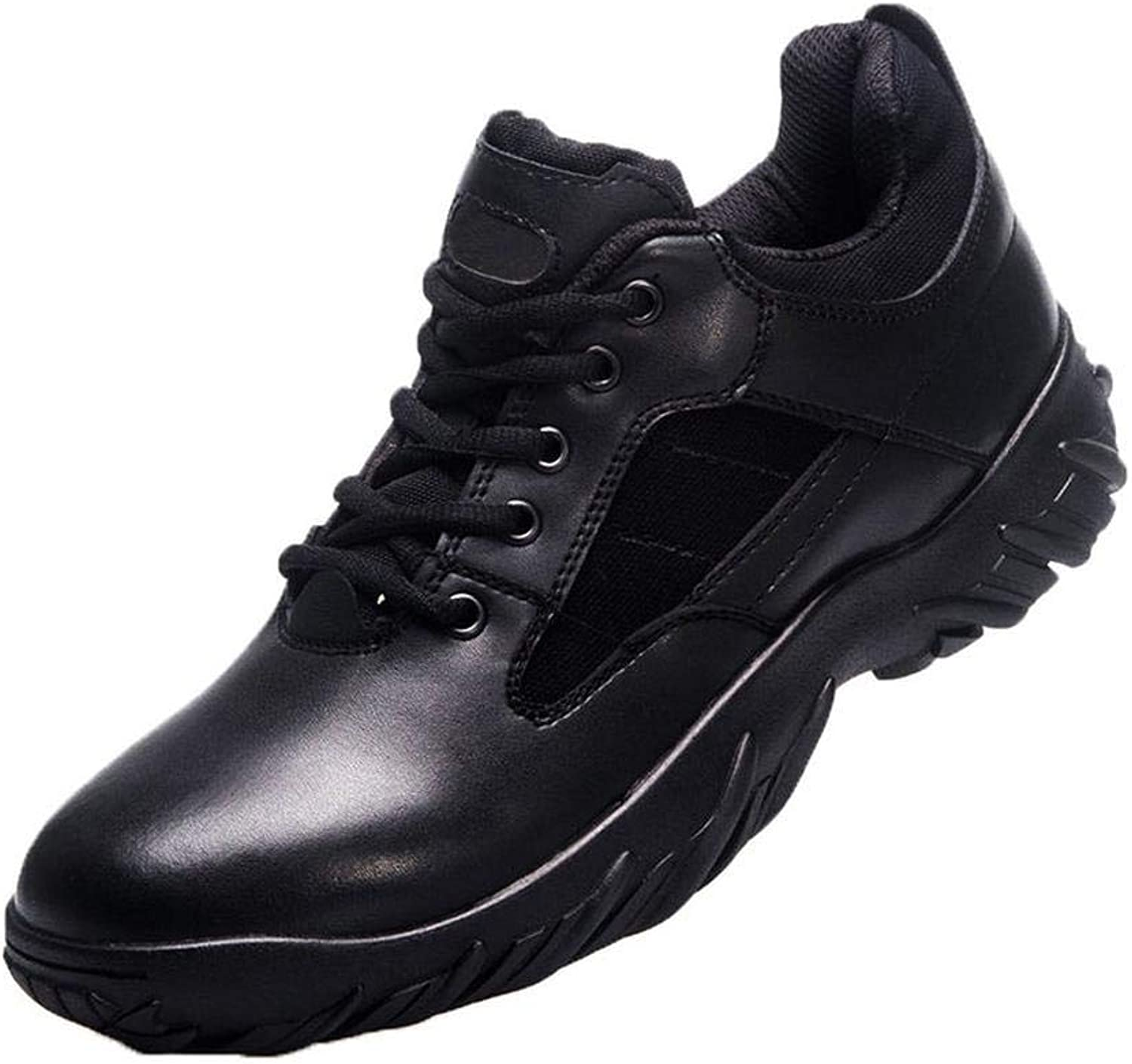 QIKAI Hiking shoes Military boots summer low ultra light shock absorption training shoes