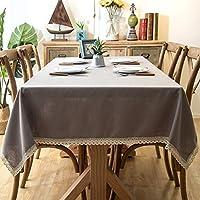 テーブルクロス レース テーブルカバー 食卓カバー 無地 テーブルクロス 北欧風 長方形 正方形 装飾 抗菌加工 耐久性 水洗い 滑り止め テーブルマット カラー 防汚 120*180 茶卓 キッチン ダイニングルーム ギャザリング 花柄