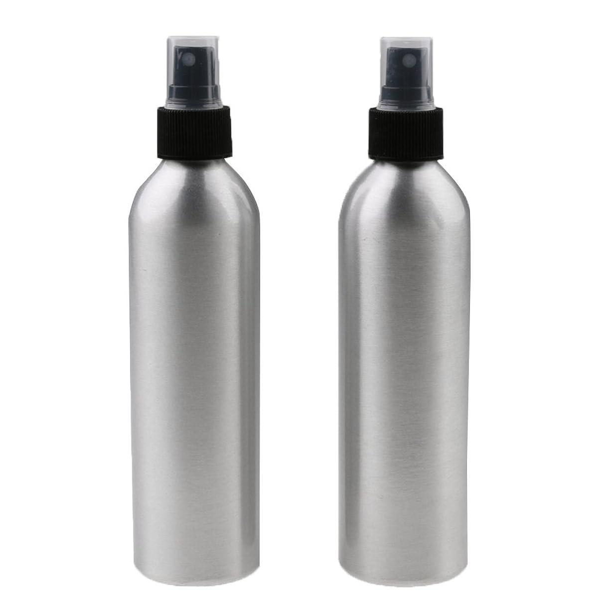 Fenteer 2個 スプレーボトル 旅行 ミスト スプレー 香水ボトル メイクアップ アトマイザー 美容 小物 軽量 持ち運び便利 全4サイズ - 250ml