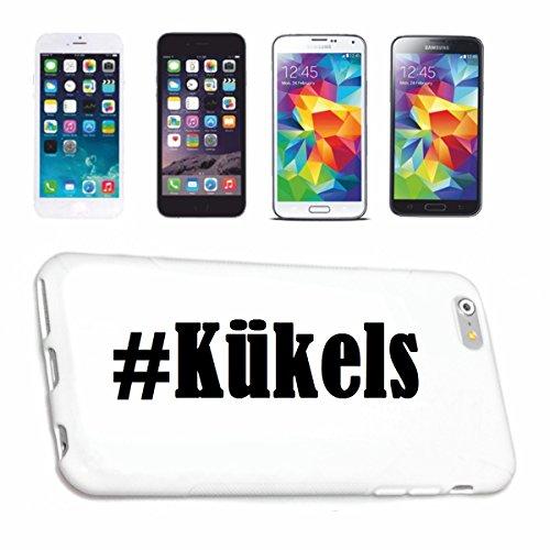 Bandenmarkt telefoonhoes compatibel met iPhone 7 Hashtag #Kükels in Social Network Design Hardcase beschermhoes mobiele telefoon Cover Smart Cover