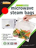 Toastabags Microwave steam (Pack of 100) Medium Bags, 21 x 16.5 x 1.75 cm