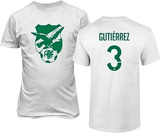 Tcamp National Soccer 2019 Bolivia #3 Luis Alberto Gutierrez Copa America T-Shirt