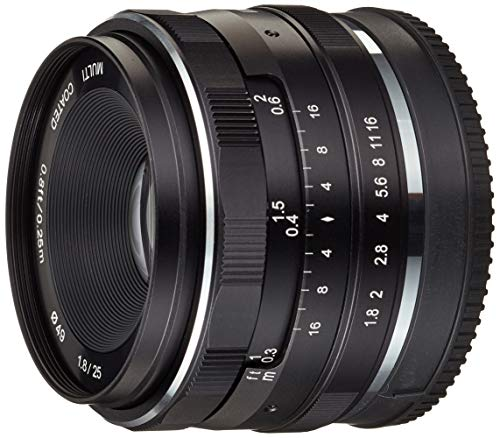 Meike Optics 20770001Lente 25mm f1.8Sony E Mount Negro