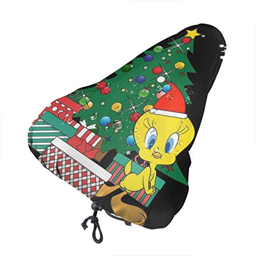 Tweety Around The Christmas Cover per seggiolino bici con coulisse, impermeabile, resistente alla pioggia e alla polvere