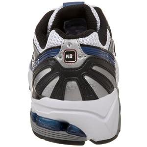 New Balance Men's 1012 V1 Running Shoe, Silver/Blue, 11.5 W US