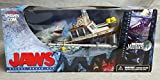 McFarlane - Movie Maniacs - Series 4 (MM4) - Jaws Deluxe Box Set w/Shark (Jaws), Boat and other custom figures and accessories