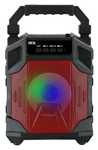 """QFX PBX-22-RD Bluetooth Party Speaker 