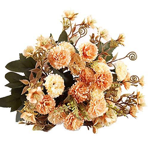 Garre Tlin, künstliches Blumen-Arrangement, 3,5 cm, fliederfarben, für Hochzeit, Party, Zuhause, Café, DIY-Dekoration, Champagner