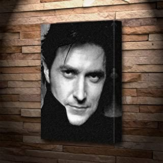 RICHARD ARMITAGE - Canvas Print (A4 - Signed by the Artist) #js004