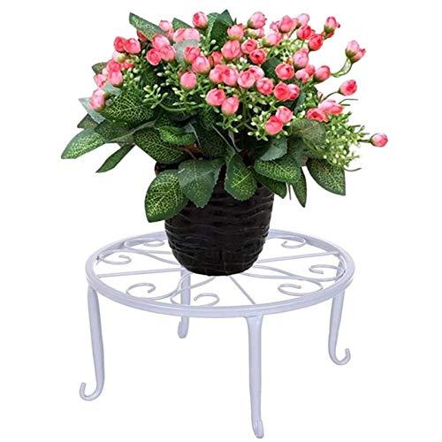 Taburete De Flores De Metal Taburete De Hierro con Soporte para Flores Soporte De Flores De Hierro...