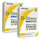 D-Stress (+1 Vitamine C offerte) ➠ Magnésium hautement assimilé, taurine, arginine et vitamines B ➠ Origine France ➠ Lot de 2 + 1 Vitamine C offerte