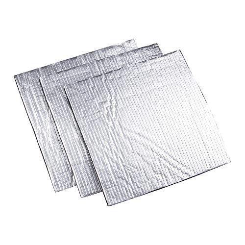 HUANRUOBAIHUO 3D-printer delen Isolatie Cotton 200/220 / 300mm folie zelfklevend Isolatie Cotton 3D-printer Verwarming Bed Sticker 3D Printer Parts (Size : 145x145x10mm)