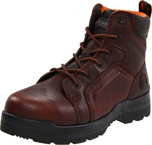 Rockport Work Men's RK6640 Work Boot,Brown Leather,9.5 M US
