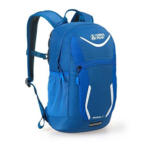 Terra Peak Rucksack Venture 12 Kinderrucksack Alltagsrucksack Verschiedene Farbvarianten, Farbe:Navy/Bright Blue