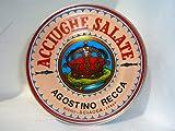 Italian Anchovies in Salt Agostino Recca, 1.76-Pound