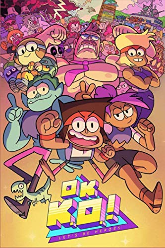 Ok k.O.! Let's be heroes: Journal/notebook, Perfect For Journaling, Writing, To Do List... Gift For Kids Teens Girls Boys, Sketchbook For Kids, Lined Notebook - (6'X 9' In, 100 Pages)