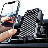 VANMASS Handyhalterung Auto Lüftungs Handyhalter fürs Auto Kfz Handyhalterung mit 2 Lüftungsclips umfassend Silikonschutz Smartphone Halterung Auto 360° Drehbar für iPhone Samsung Huawei Mate LG usw