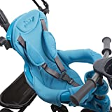 Joovy Tricycoo 4.1 Kid's Tricycle, Push Tricycle, Toddler Trike, Blue