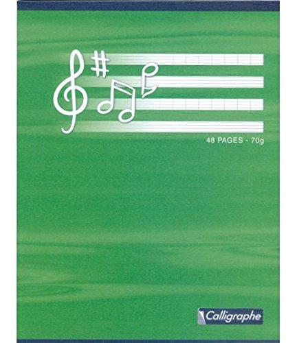 NO NAME Piqûre musique et chant 17x22 48p séyès/portées 90/70g