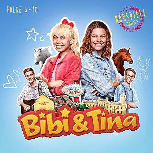 Bibi & Tina - Staffel 1, Episode 6-10. Hörspiele zur Amazon Prime Original Serie
