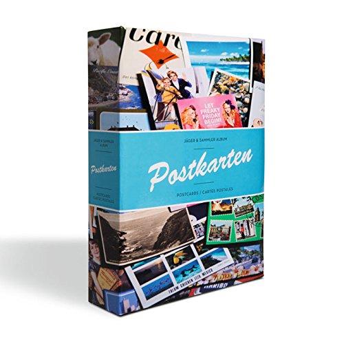 Álbum para tarjetas postales incl. 50 fundas para 4 tarjetas por funda, diseño B